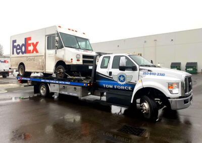 FedEx trucks put in thousands of miles; when they break down, we're ready to help.