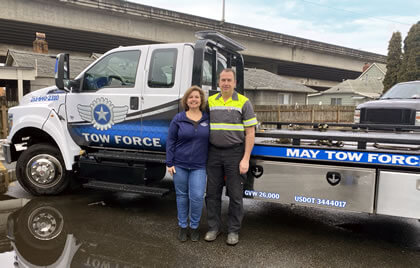 Tow Force Founders Steve Carrie Swanlund - Puyallup